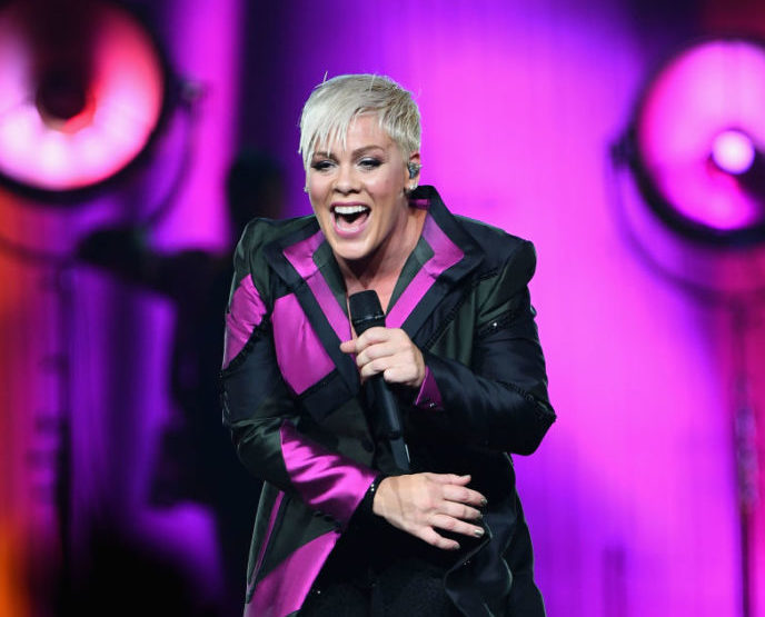 Pink has postponed a second concert in Australia after being hospitalized