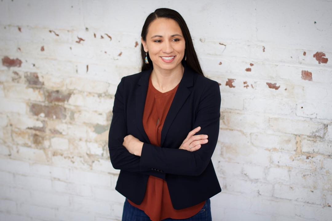 Sharice Davids just won her primary and could be the first Native American woman elected to Congress