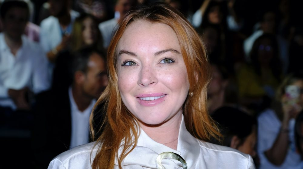 "Lindsay Lohan said the #MeToo movement makes women look ""weak"""