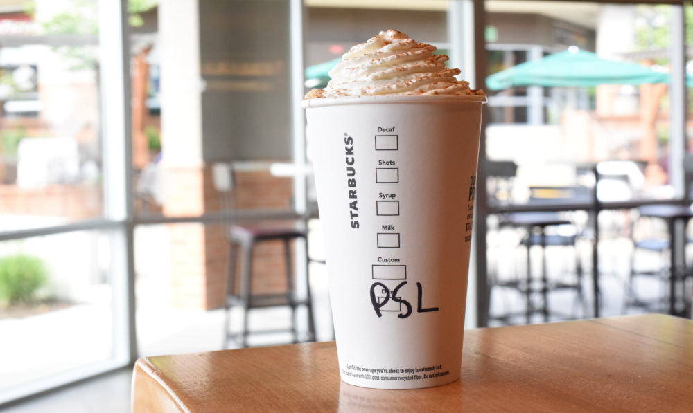 Starbucks Pumpkin Spice Lattes are reportedly back in a few weeks—heatwave be damned