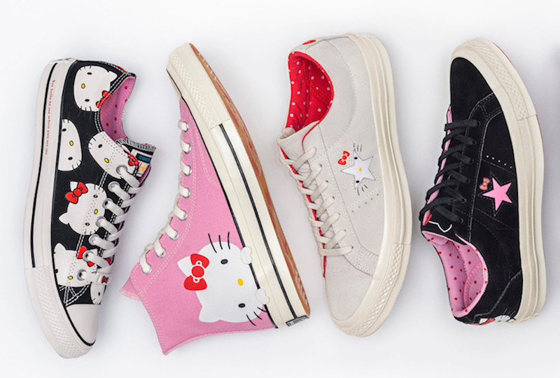 Pink Hello Kitty Chuck Taylors are coming, thanks to this Sanrio x Converse collab