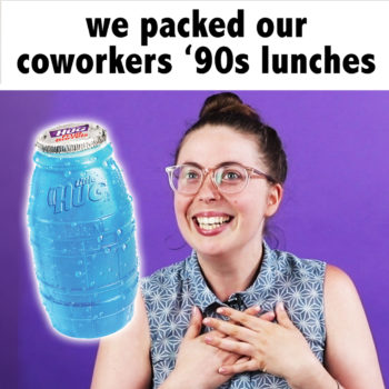 We Packed our Coworkers '90s Lunches
