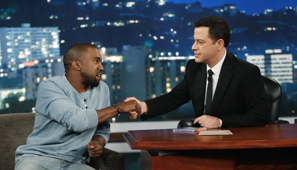 "Kanye West insists he wasn't ""stumped"" by Jimmy Kimmel's question about Donald Trump"