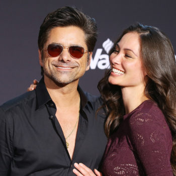 John Stamos' wife, Caitlin McHugh, clapped back so hard when someone tried to shame her for being a mom with tattoos