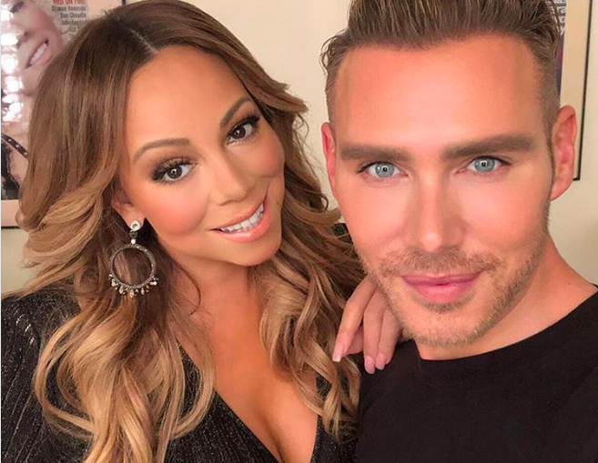 Mariah Carey Makeup Artist Kristofer Buckle Makeup Tips Interview Hellogiggles