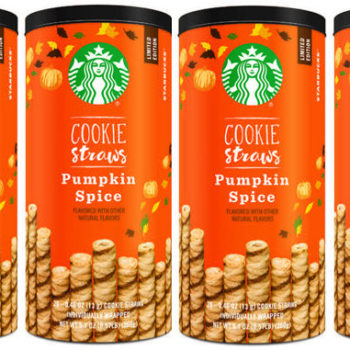 Starbucks is selling Pumpkin Spice Cookie straws that will turn any drink into a PSL