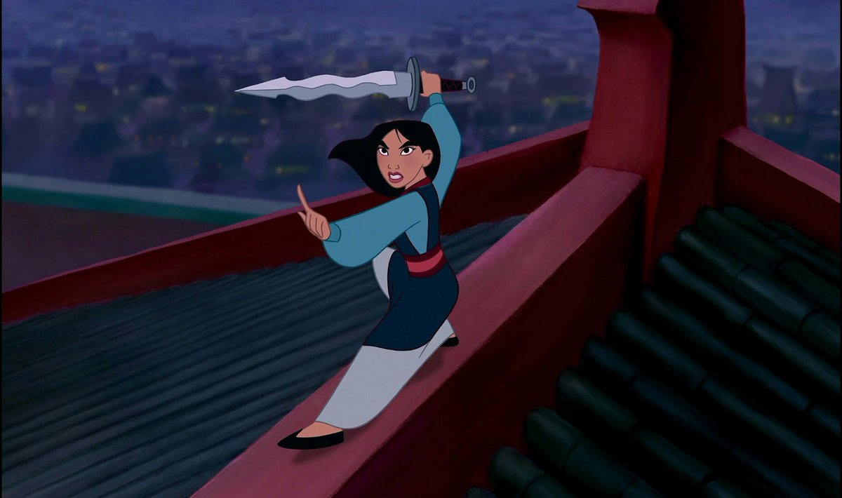 The first photo from Disney's live-action <em>Mulan</em> is here, and she's ready to get down to business