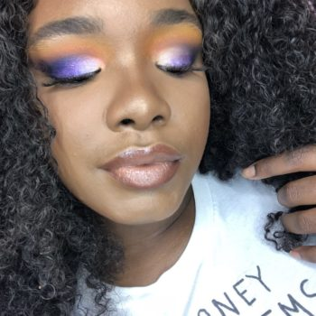 I tried learning how to do cut crease eyeshadow from an Instagram pictorial