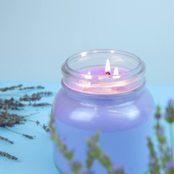 This giant DIY anti-stress candle will turn your home into a tranquil paradise