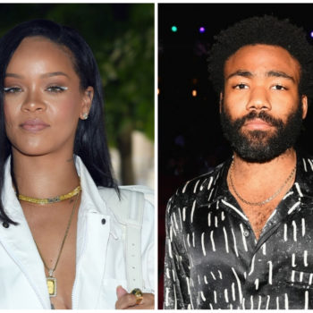 Rihanna and Donald Glover are working on a mystery project together, and Twitter has some theories