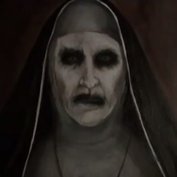 YouTube banned the trailer for <em>The Nun</em> because it was too scary, but you can watch it here—if you dare