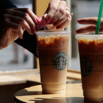 Starbucks is having a BOGO on iced drinks today, so you can get your cold brew fix for less