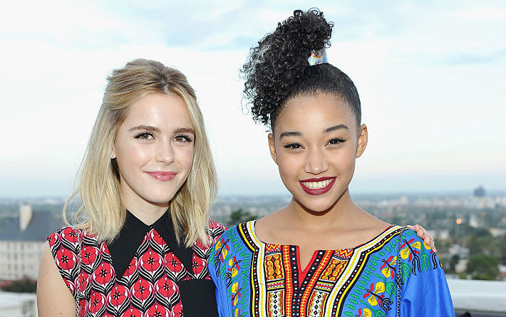 Kiernan Shipka and Amandla Stenberg once starred in a Lunchables commercial together, and the nostalgia is real