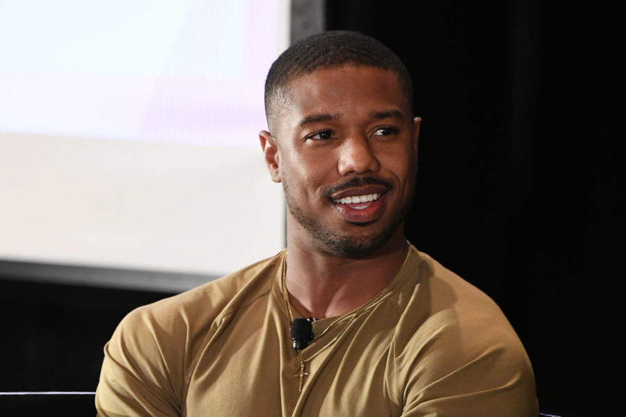 Michael B. Jordan surprised the fan who took his cardboard cutout to prom