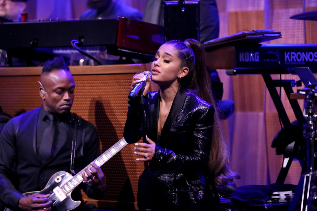 "Ariana Grande revealed lyrics from her song ""Pete Davidson"" on Instagram months ago"