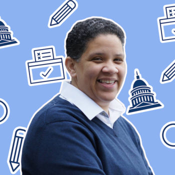 Kerri Evelyn Harris is running for Senate, and she's a true candidate for the people