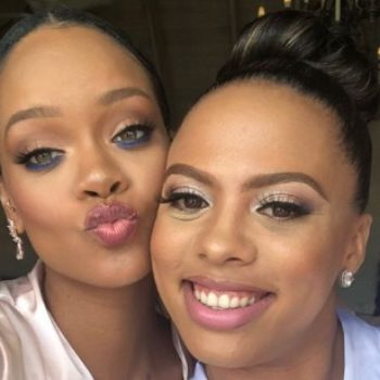 Rihanna was a bridesmaid in her friend's wedding, and we've had that exact dream before
