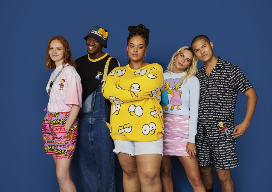 "ASOS teamed up with <em>The Simpsons</em> on a streetwear collection that will make you say ""¡Ay, caramba!"""