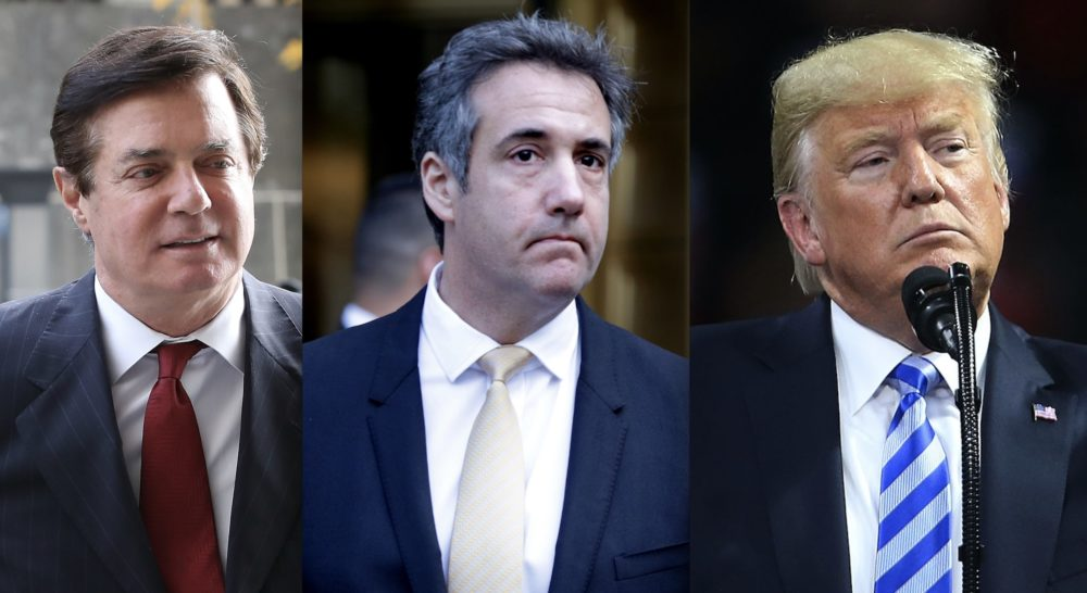 Here are the basics of the Michael Cohen and Paul Manafort situations—and what it means for Trump