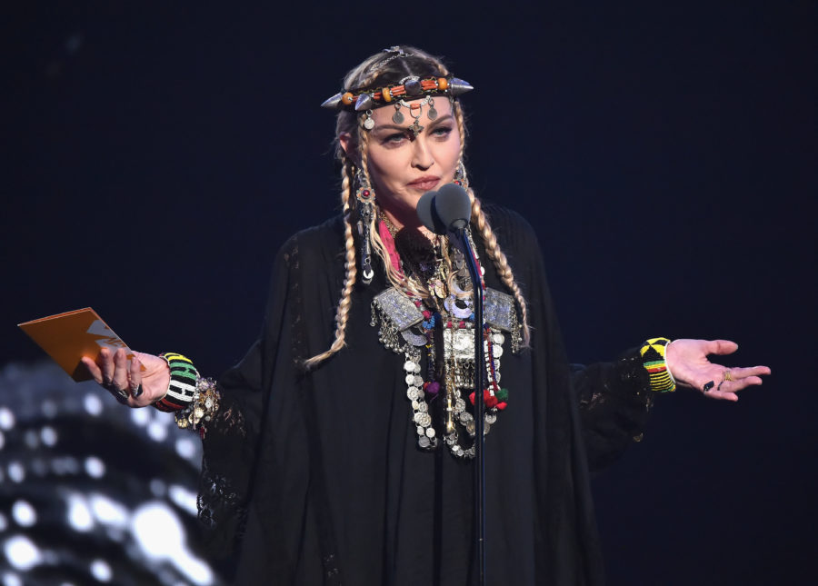Madonna addressed the backlash surrounding her Aretha Franklin VMAs speech