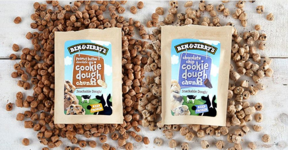 Ben & Jerry's is officially testing cookie dough without ice cream, and girls' night will never be the same