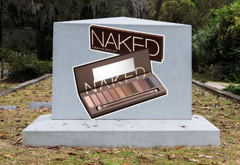 If you need us, we'll be mourning the end of Urban Decay's iconic Naked palette