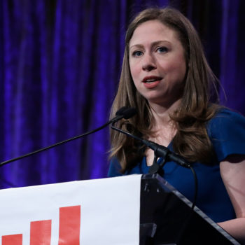 Chelsea Clinton clapped back at the <em>National Enquirer</em> for all those outrageous Hillary covers