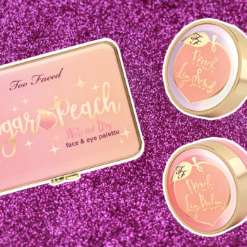 Exclusive: Too Faced is coming out with a new peach palette, plus two lip care products