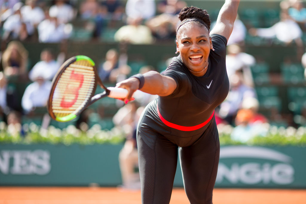 Serena Williams was banned from wearing her black catsuit at the French Open—even though she wears it for health reasons