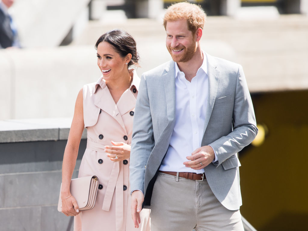 Prince Harry and Meghan Markle adopted a dog, and this is not a drill