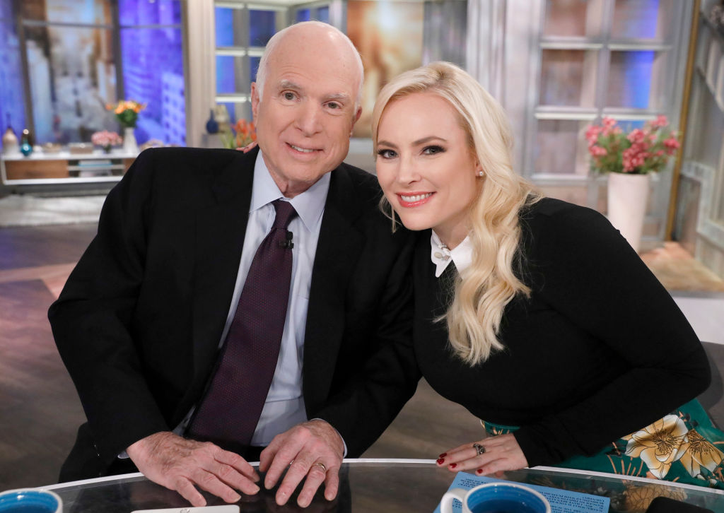 Meghan McCain penned a touching tribute to her late father John McCain