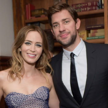 John Krasinski attributes his success to his wife Emily Blunt, and they're #relationshipgoals