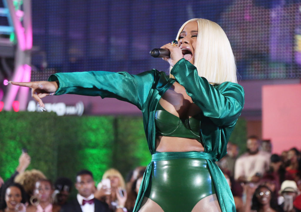 Cardi B just performed for the first time since giving birth—and it was a total surprise