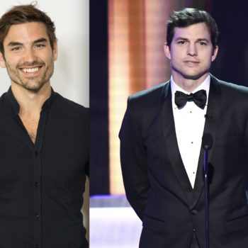 Jared Haibon finally met doppelgänger Ashton Kutcher, and there's a selfie to prove it