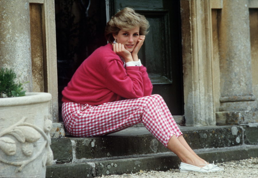 Princess Diana's iconic USA sweatshirt is up for auction