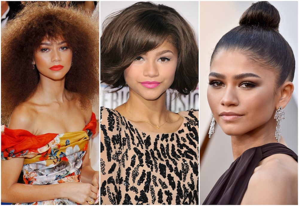 19 times Zendaya proved she's a hair and makeup chameleon