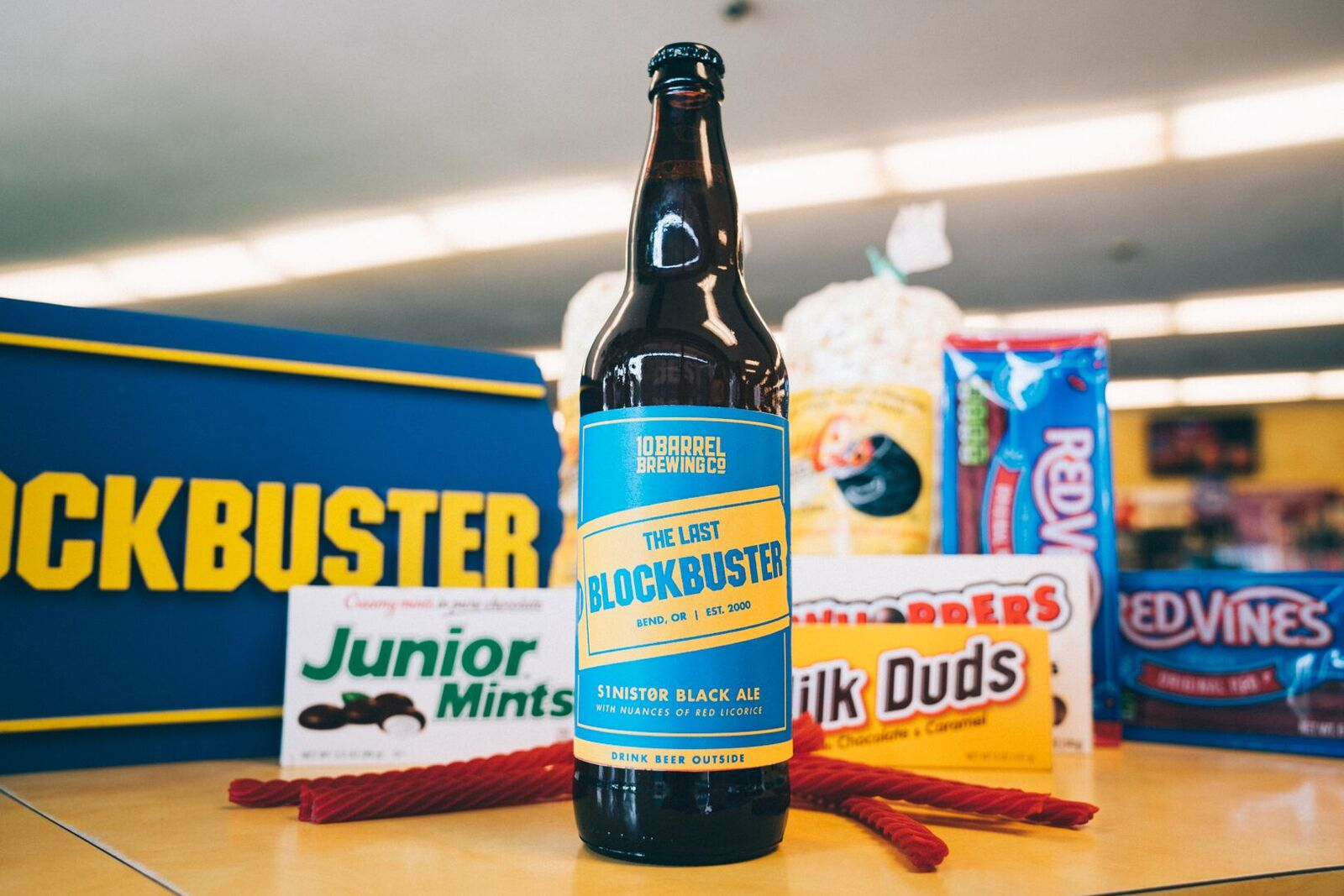 A Blockbuster-themed beer exists, because our thirst for '90s nostalgia is unquenchable