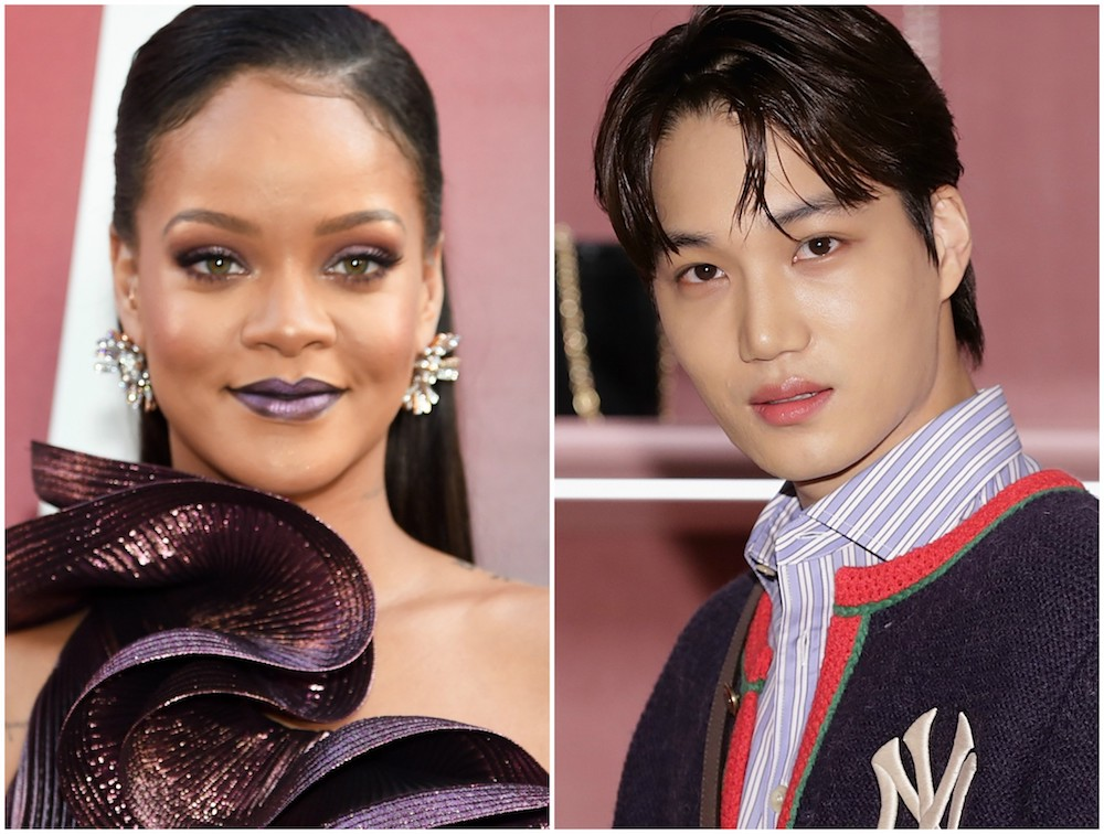fans want a fenty beauty collaboration with k pop star kai from exo