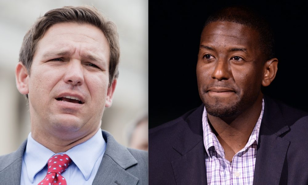 A Florida politician made a racially-charged comment about black candidate Andrew Gillum