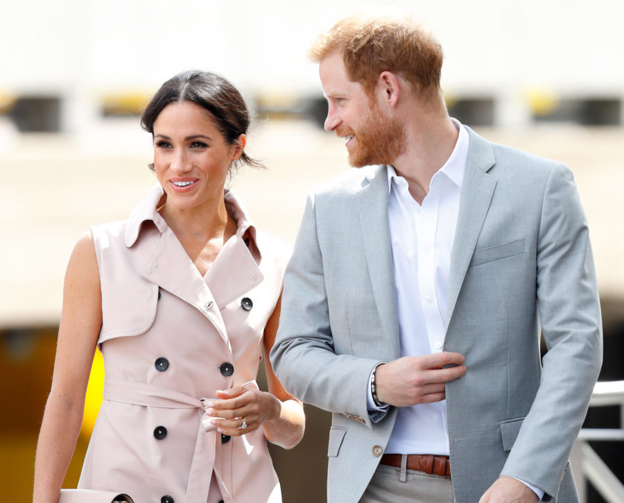 Meghan Markle stepped out in a chic tuxedo mini dress for a <em>Hamilton</em> date night with Prince Harry