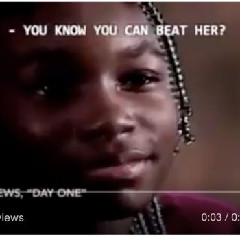 A throwback video has surfaced of Venus Williams' dad defending her confidence after a white journalist questioned it