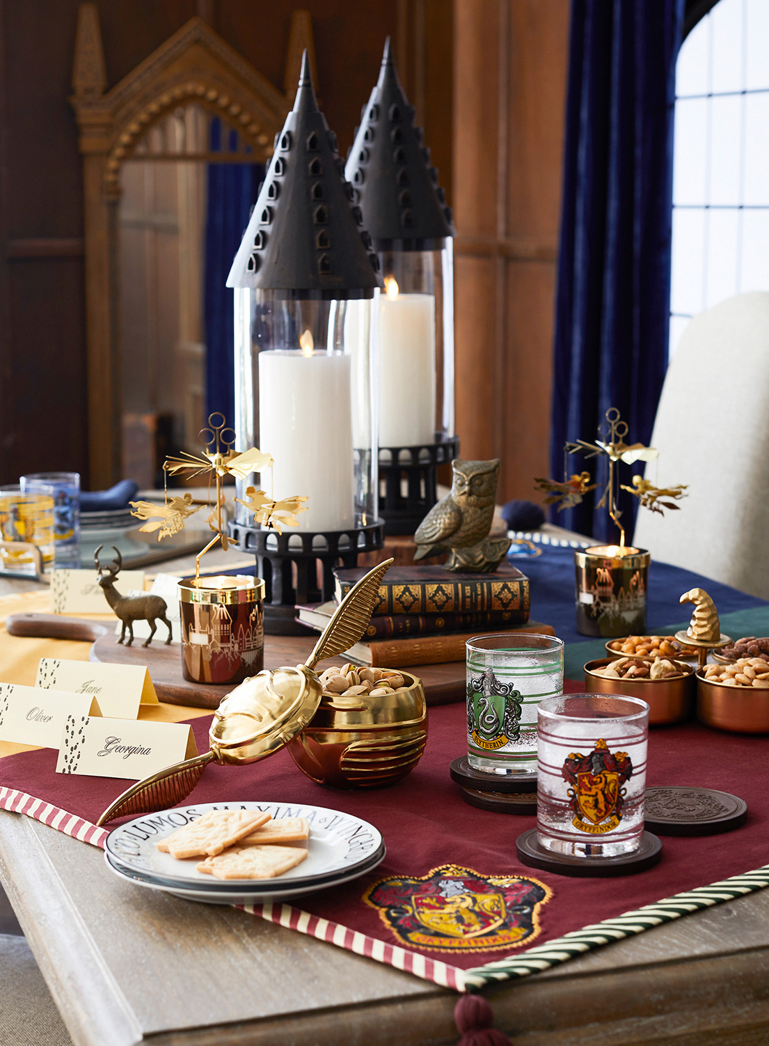 Pottery Barn S Quot Harry Potter Quot Home Goods Collection Is