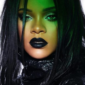 Fenty Beauty released another Stunna Lip Paint in the perfect goth shade