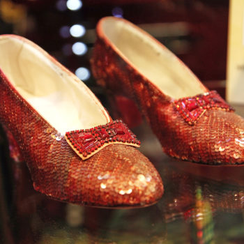 The FBI found Dorothy's ruby slippers from <em>The Wizard of Oz</em> after a decade-long search, and we're clicking our heels