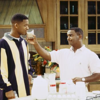 In best news ever, there was a Will and Carlton <em>Fresh Prince</em> Instagram reunion over the weekend