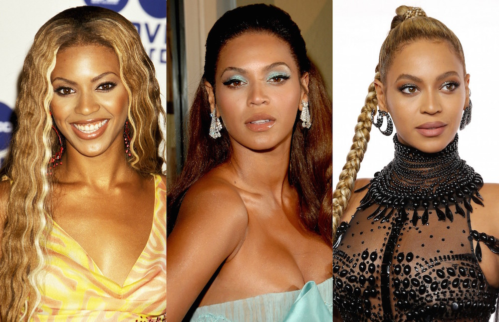 Beyoncé's beauty evolution, from good-girl curls to butt-length braids
