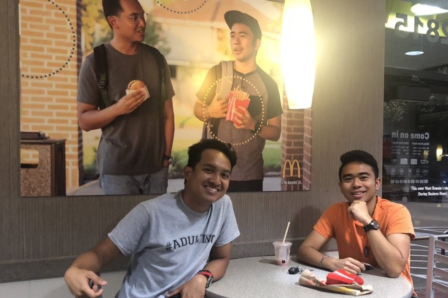 These college students put a poster of themselves in a McDonald's to increase Asian representation, and no one noticed for 51 days