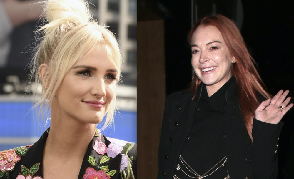 "Ashlee Simpson just confirmed that her iconic song ""Boyfriend"" was about Lindsay Lohan"