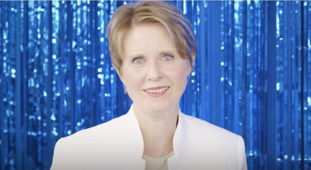 Cynthia Nixon wants you to know that she's NOT Miranda—she even made this video about it