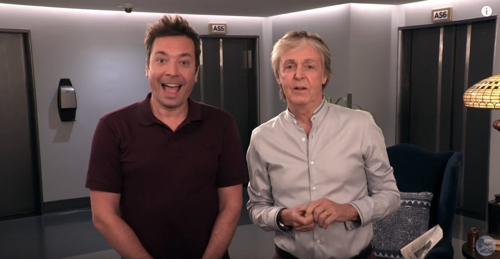 Jimmy Fallon and Paul McCartney pranking 30 Rock tourists will be your new happy place